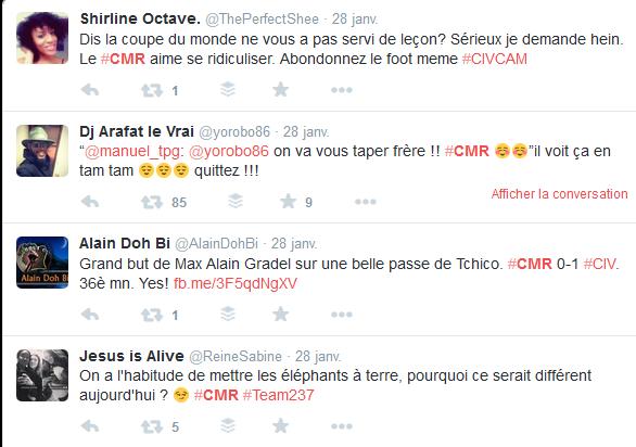 Extrait Twitter #CMR
